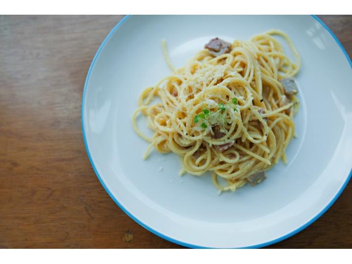 Gluten-free Carbonara